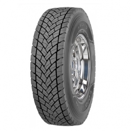 215/75 R17.5 Goodyear KMAX D 126/124M TL 3PSF Ведущая